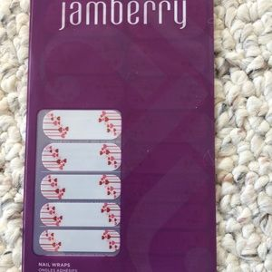 Valentine's Day Jamberry nail wraps